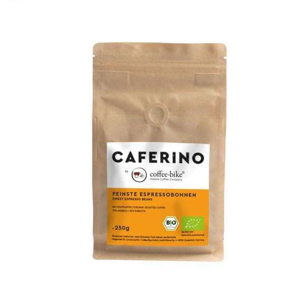 Caferino organic Espresso Beans 250 Grams
