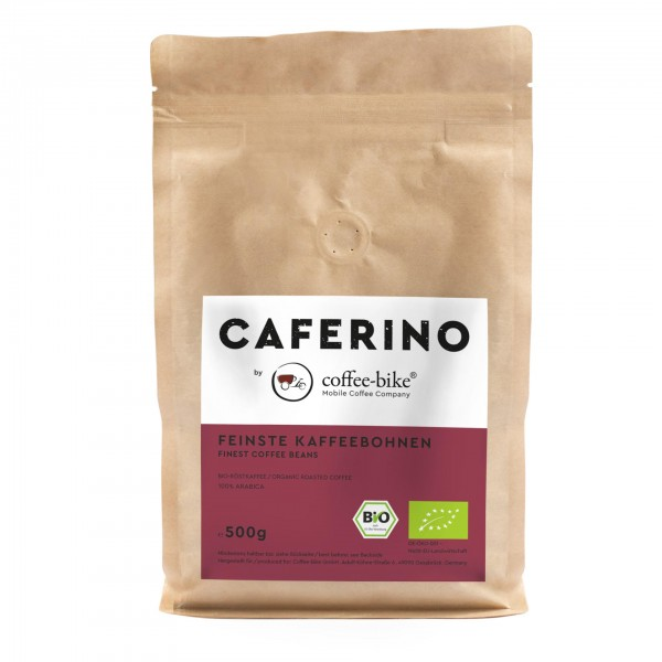 Caferino organic Coffee Beans 500 Grams