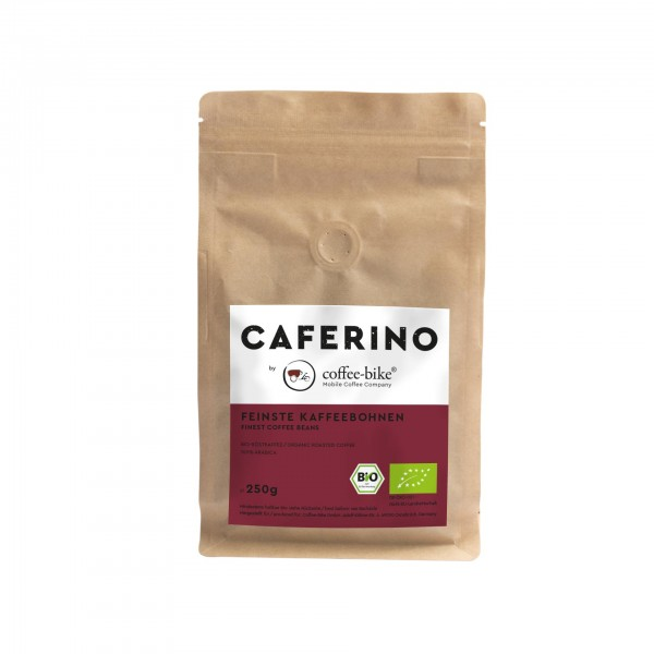 Caferino organic Coffee Beans 250 Grams